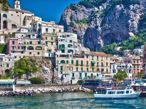 Transfer from the Amalfi coast to Rome and vice versa