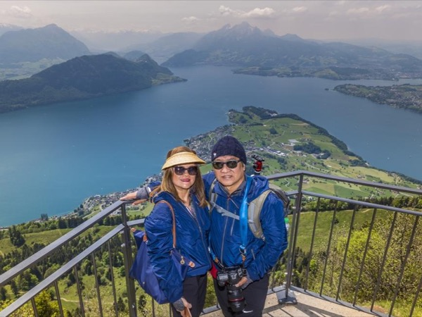 Mount Rigi Day Trip from Lucerne with Classic Rigi walking trail.