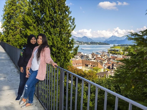 Lucerne morning walking tour