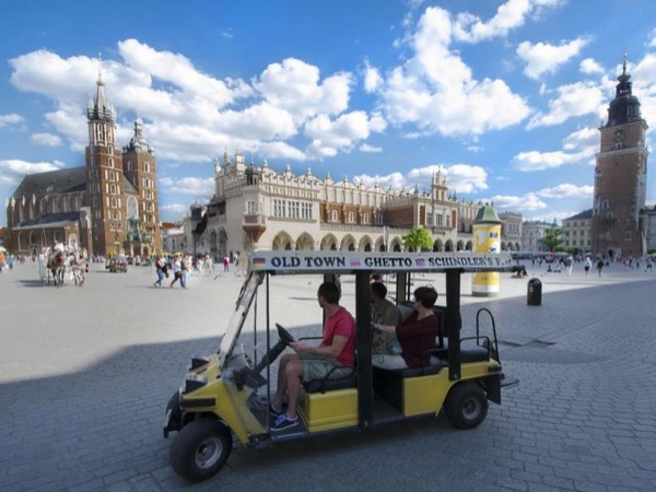 Krakow City Tour by Golfcart With a Local Guide