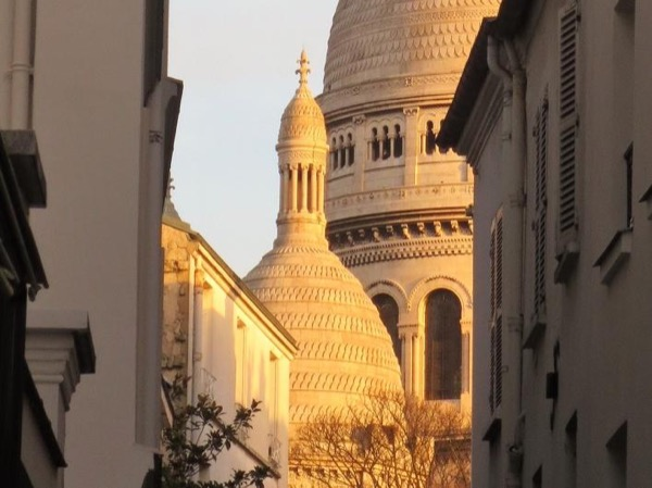In the footsteps of the painters in Montmartre