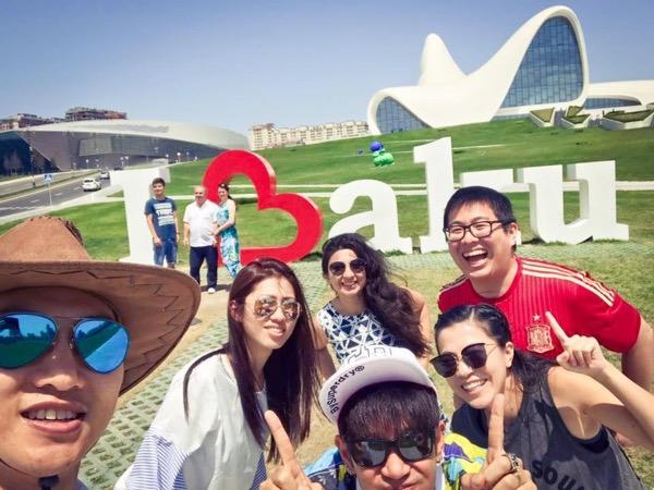 Baku half-day walking tour