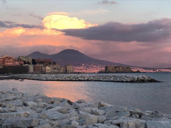 Mt. Vesuvio, a famous Volcano