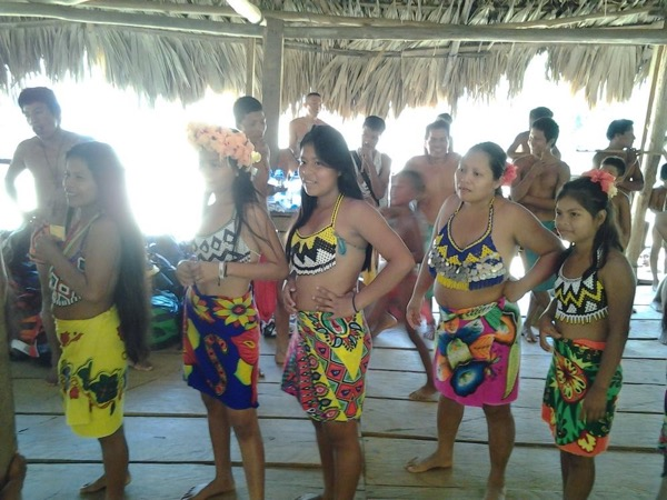 The Embera Indigenos Tribe