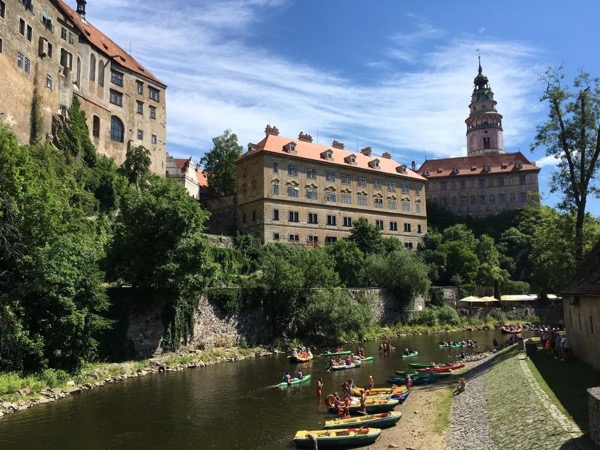 Cesky Krumlov experience - Castle visit, private tour, rafting or kick bike