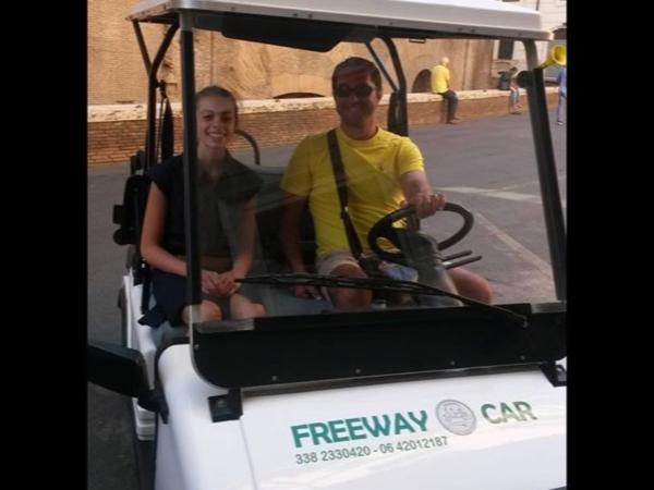 Best of Rome Private Golf Cart Tour