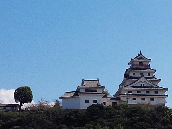 Karatsu castle and sake tasting
