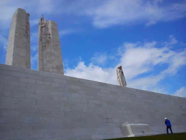 Canadian battlefields in Vimy, Flanders and the Somme
