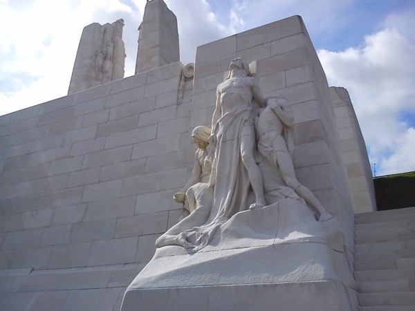 3 days on the Canadian battlefields in France and Flanders
