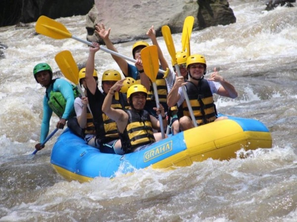 Private Tour: Bali White Water Rafting