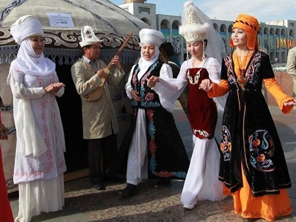 Kyrgyz Wedding Party