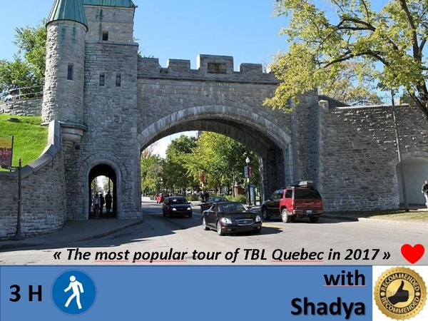 Charming & historic Quebec City walking private tour (Best Seller)