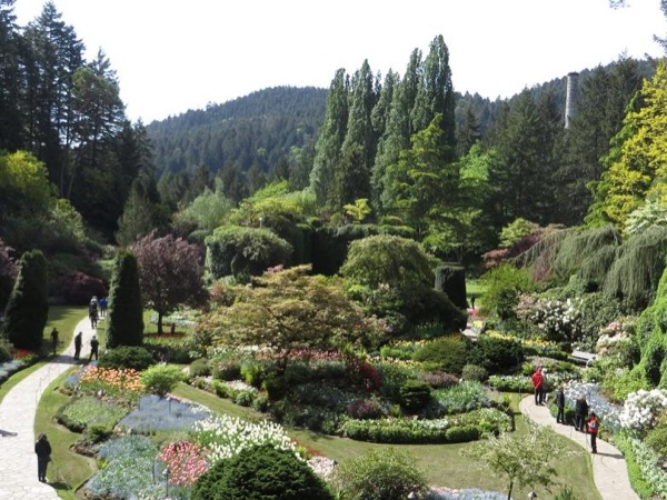 Butchart Gardens And City Highlights