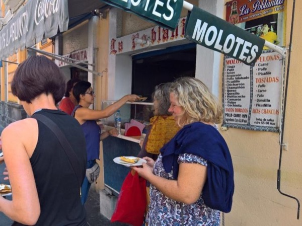 Street food tour in Puebla