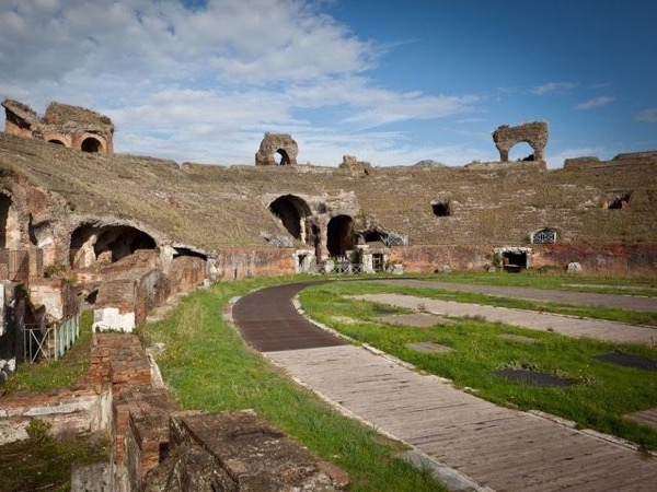 The Amphitheater of the ancient Capua