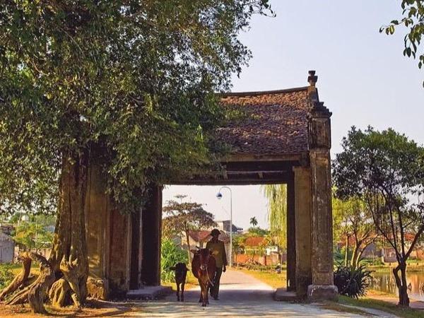 Tay Phuong pagoda and Duong lam ancient village with biking