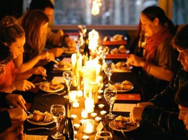 Nordic Dinner in Local Home