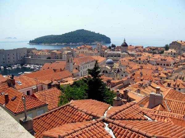 Dubrovnik from up and down