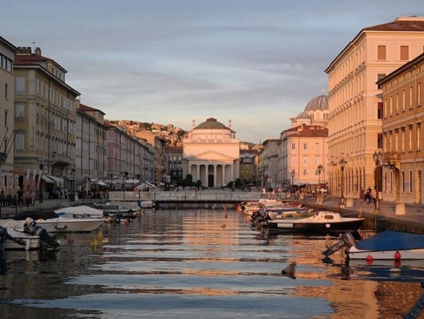 Trieste walking tour