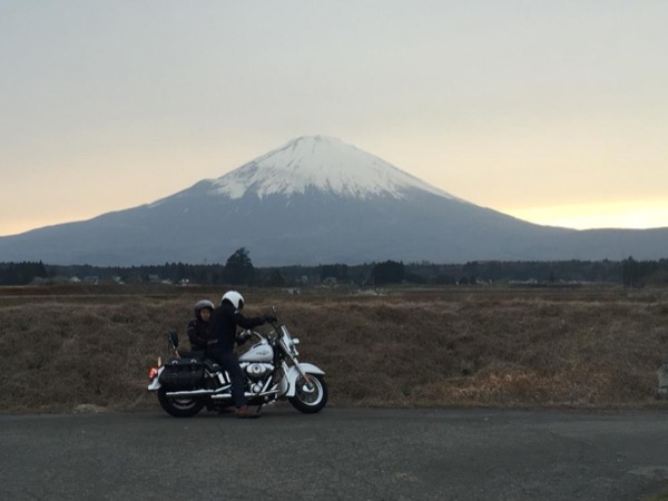 Day trip to Mt.Fuji area on motorcycle by private guide rider