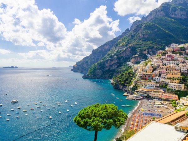 Full Day Private Boat Cruise from Salerno Along the Amalfi Coast