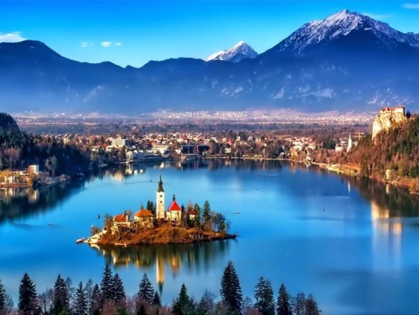 Ljubljana & Postojna Cave or Bled Lake Private Day Trip