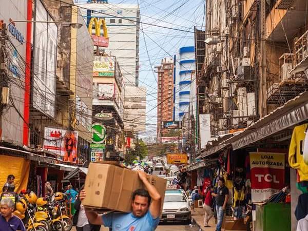 Tax Free town of Ciudad del Este