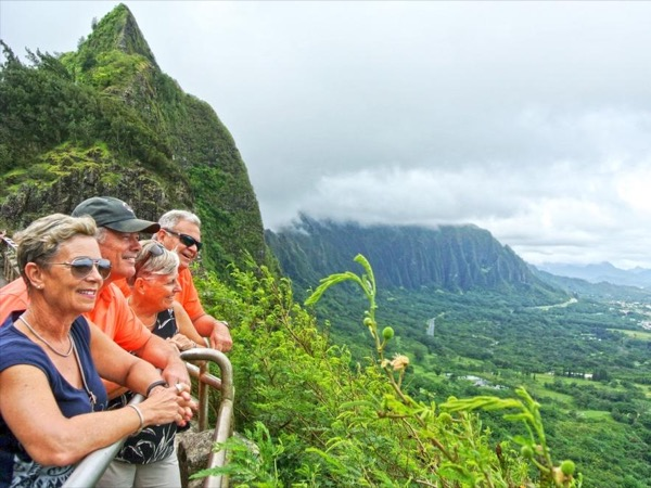 Up to 2 guests-Half day Oahu Private Tour