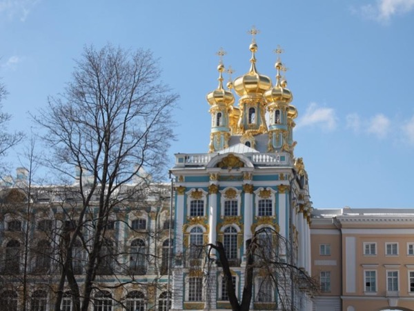 Imperial summer residences (with Amber room) private shore tour of St-Petersburg