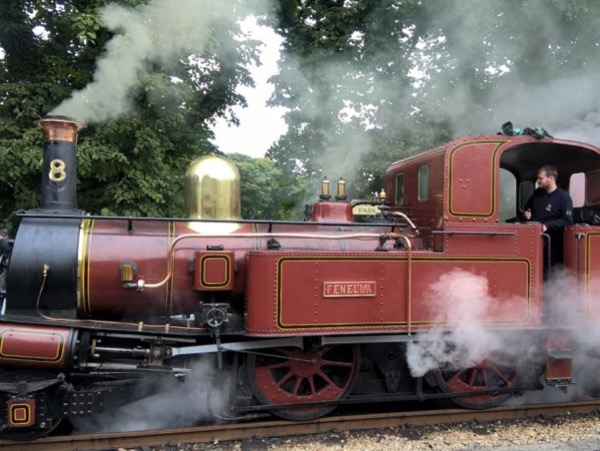 Steam Trains and Castles