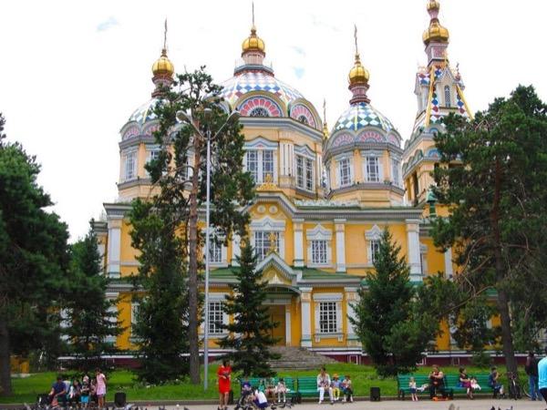 Walking Almaty tour