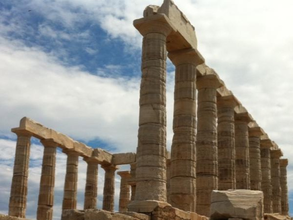Cape Sounion ,temple of Poseidon-The Athens Riviera private tour with a minivan