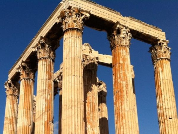 Athens highlights and Cape Sounion private tour with a minivan