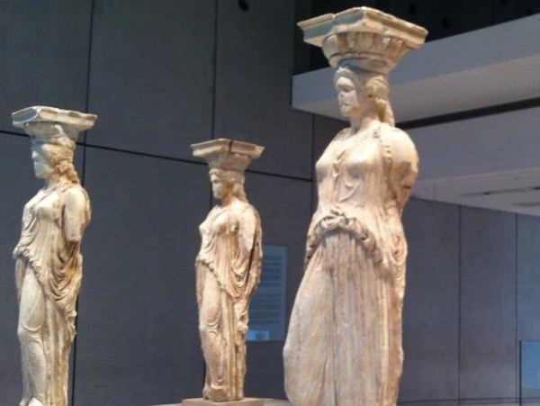 Athens new Acropolis museum and walk through plaka private tour