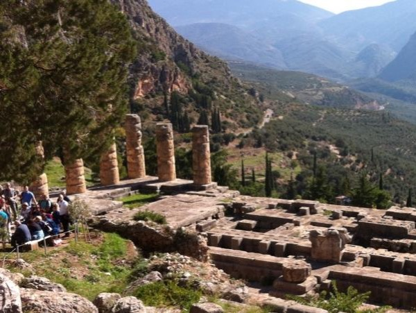 The Oracle of Delphi private tour with a minivan