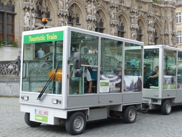 Leuven by Solar Train tour (up to 20 or 40 persons)