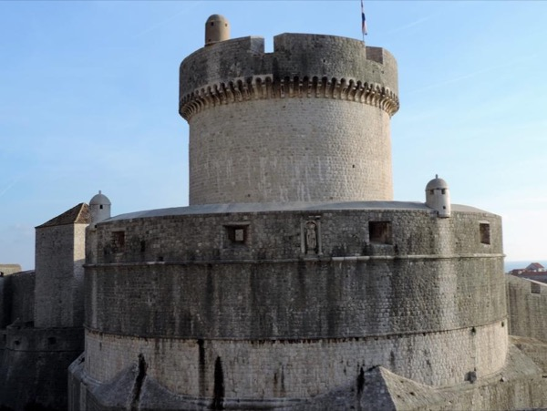 Medieval city walls of Dubrovnik private tour