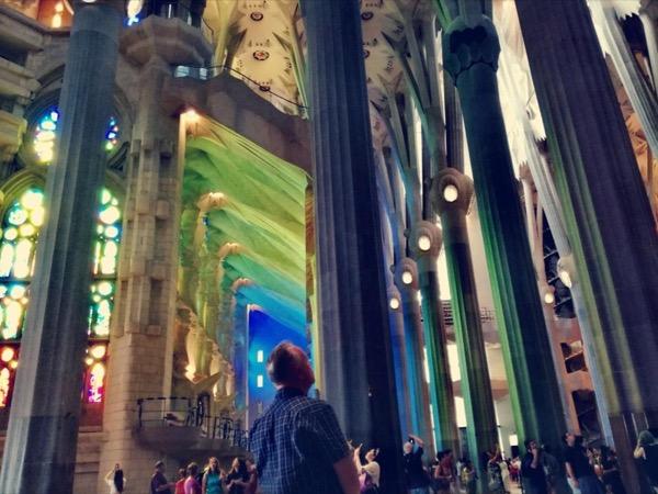 Sagrada Familia tour (1:30 hours)