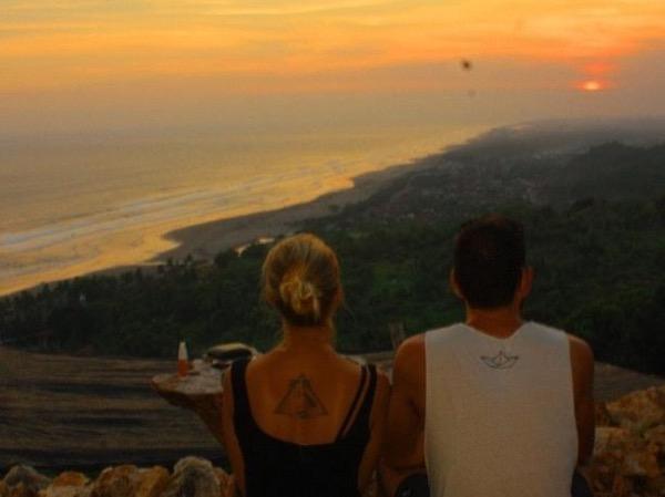 The Mystical Parangtritis Beach and Stunning Cliff Sunset
