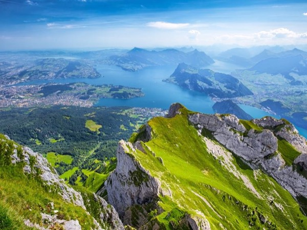 Mount Pilatus Golden Tour (5h)