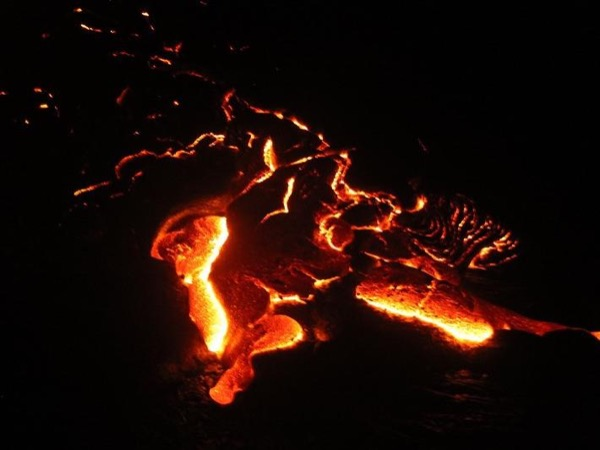 Active Lava Adventure from Kona/Kohala Coast... The Tour you will tell your friends about