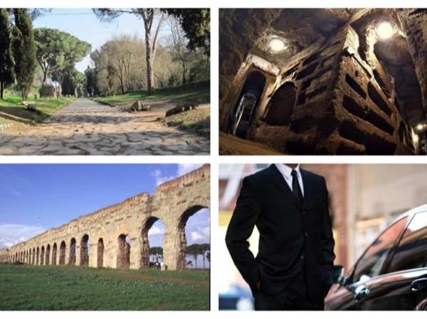 The Catacombs of Ancient Appian Way: the Dark Side of Rome The Dark Side of Rome with NCC (private car and driver)