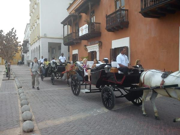 Spectacular Colonial ride by horse carriage tour