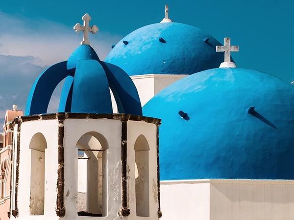 Panoramic tour for Big Groups on Santorini