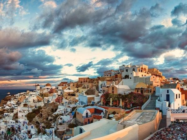 Oia and Akrotiri