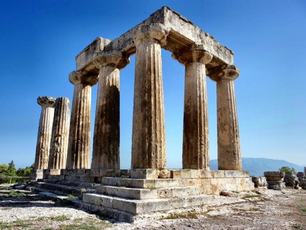 Following Apostole Paul in Athens and Ancient Corinth with a mini van