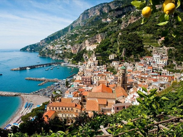 Enchanting Amalfi coast