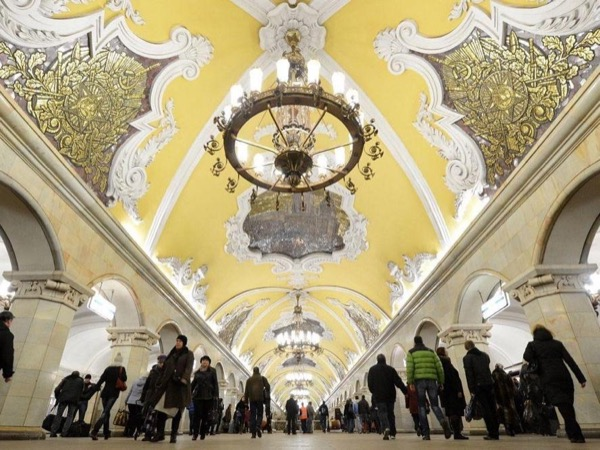 Moscow Metro Walking Private Tour