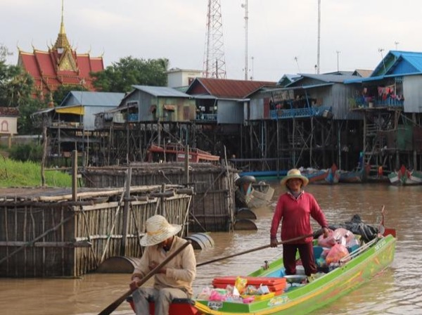 Floating village of Kompong Pluk+City Tour