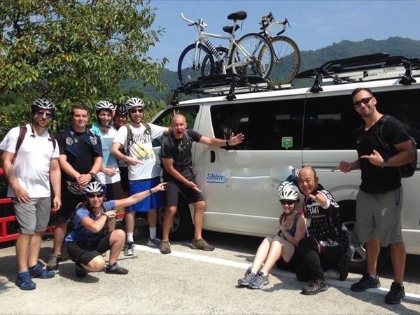 Shimanami Cycling in Eastern Hiroshima
